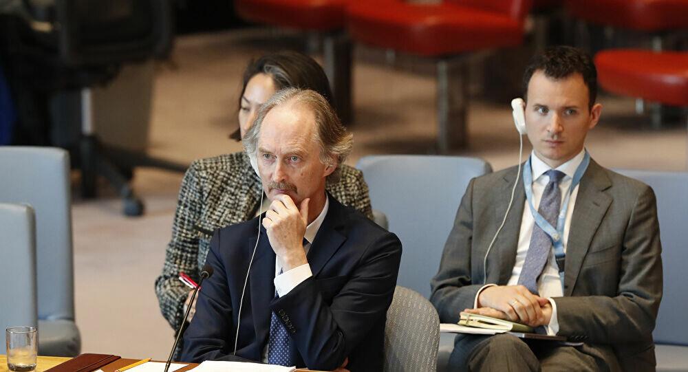 پدرسن خواستار جلسه کمیته قانون اساسی سوریه در پایان اوت شد
