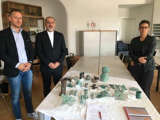 آثار قاچاقشده به اتریش در یک قدمی بازگشت به ایران
