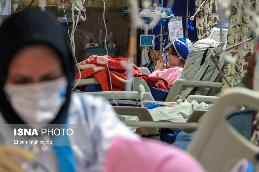 ایسنا – روزهای کرونایی بیمارستانهای زنجان