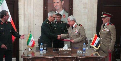 توافق نظامی ایران-سوریه و پیامهایی که به همراه دارد