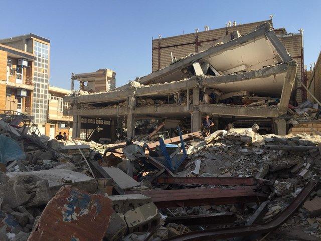 کمک ۵۰ هزار دلاری IOC به مدارس زلزله زده کرمانشاه