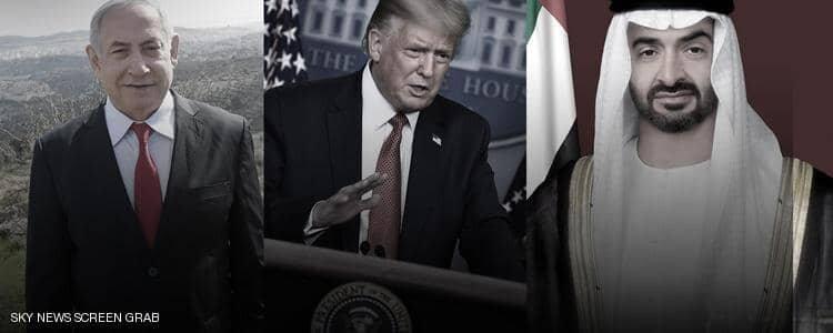 آغاز روابط رسمی اسرائیل-امارات/ تواقف ترامپ، نتانیاهو و بن زاید برای توقف طرح الحاق