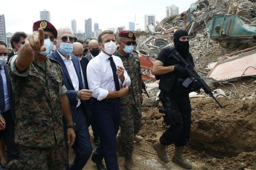 افزایش آمار کشتههای انفجار بیروت به ۱۴۵ تن/ ماکرون: کمکها به دستهای فاسد نخواهد رسید