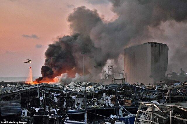 انفجار بیروت ربطی به حزبالله ندارد/ مکرون برای همدلی به لبنان نرفته بود