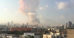 انفجار و آتشسوزی در بندر بیروت/ یک منبع امنیتی، تروریستی بودن حادثه را رد کرد