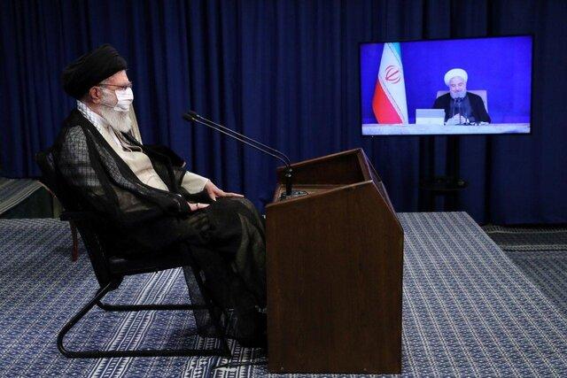 برگزاری جلسه هیات دولت در ارتباط تصویری با رهبر انقلاب