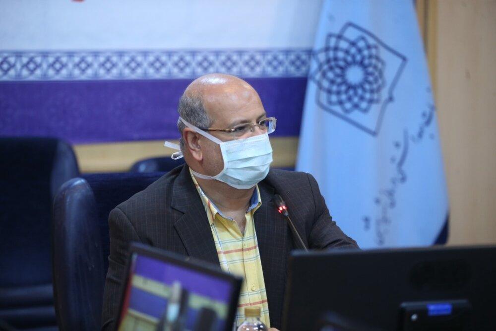 زالی خبر داد: تمدید محدودیتهای کرونایی تهران تا پایان مرداد
