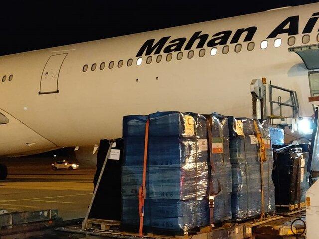 سه هواپیمای ایرانی در بیروت نشستند