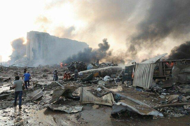 واکنش ایران به انفجار شدید بیروت