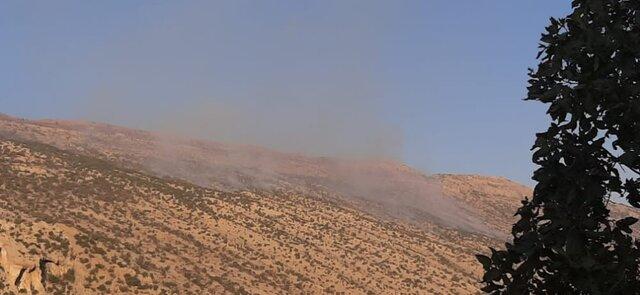 آتش سوزی جنگلهای کوه سفید لنده همچنان ادامه دارد