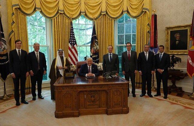 اعطای بالاترین نشان آمریکا به امیر کویت/ ترامپ: کویت به زودی با اسرائیل صلح می کند