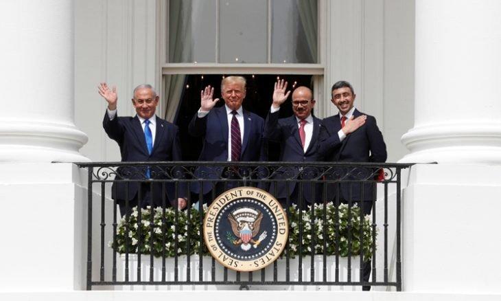توافقات سازش بدون اسمی از فلسطین و قولی برای لغو طرح الحاق
