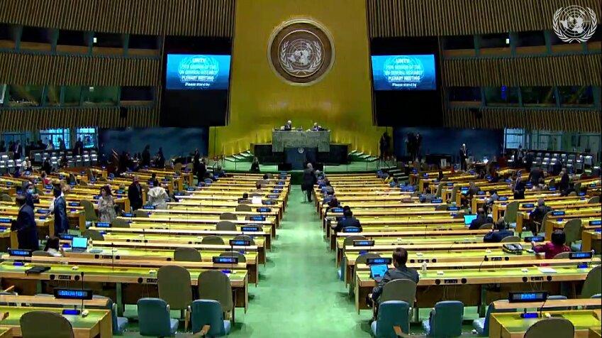 سخنرانی روحانی در مجمع عمومی سازمان ملل آغاز شد
