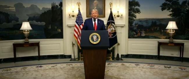 سخنرانی مجازی ترامپ در مجمع عمومی سازمان ملل ( ۲ مهر ۹۹)