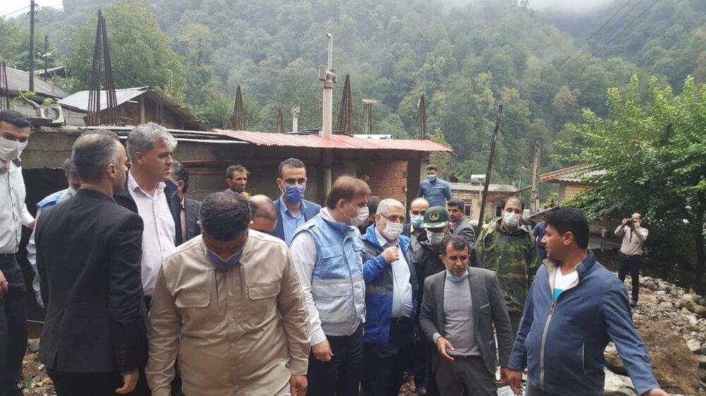 ضرورت تسریع در خدمات رسانی به مردم مناطق سیلزده تالش