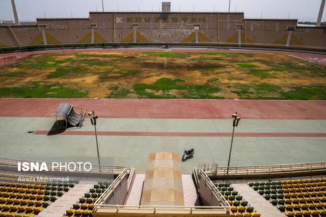 مقایسه دردناک نحوه نگهداری استادیوم تازه تاسیس در ایران و قطر