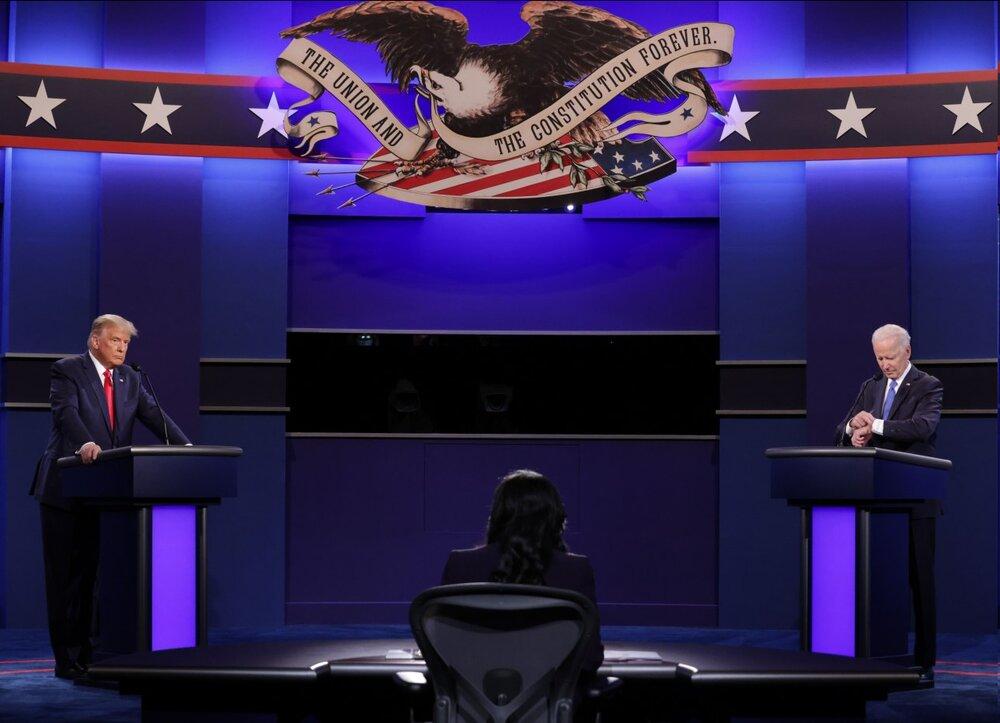 آخرین مناظره بایدن و ترامپ برگزار شد