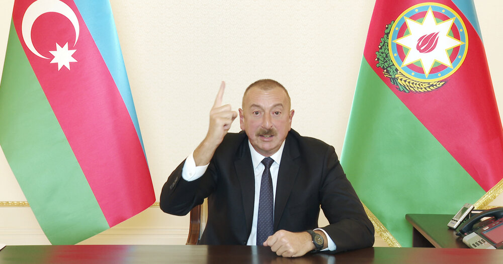 اعلام آمادگی رئیس جمهوری آذربایجان برای مذاکرات آتش بس در قره باغ
