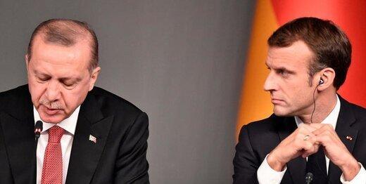 جدل اردوغان و مکرون به رسانه های دنیا کشیده شد