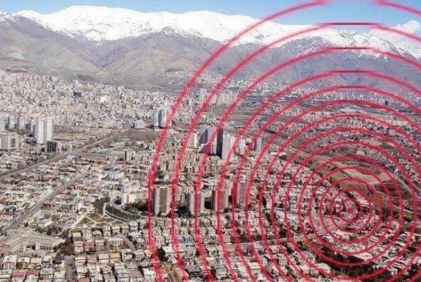 زمینلرزه امروز آوج میتواند نشاندهنده عملکرد پدیده تشدید در دشت آبرفتی تهران باشد