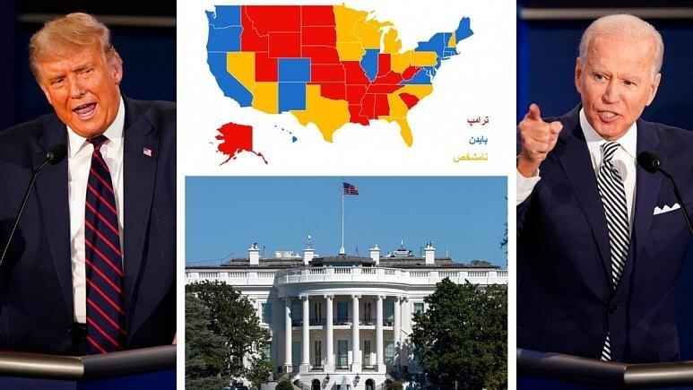 ۹ روز تا انتخابات آمریکا؛ نتیجه آخرین نظرسنجیها در ایالتهای کلیدی