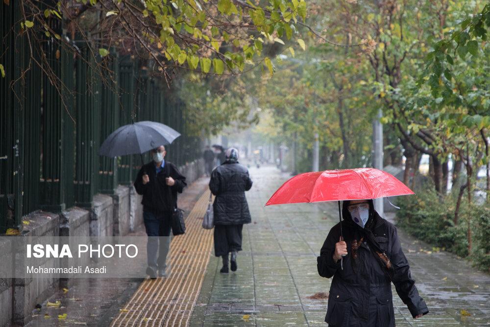 تشدید باران در ۱۲ استان کشور/ ورود سامانه جدید بارشی به کشور از فردا