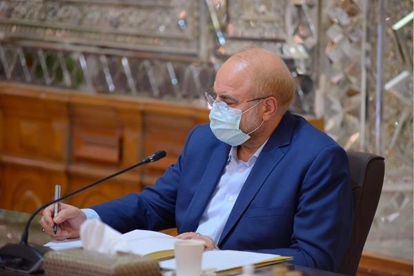 قالیباف مصوبه لغو تحریمها را به رئیس جمهور ابلاغ کرد