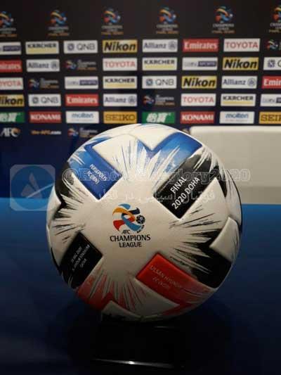 جام و توپ فینال لیگ قهرمانان آسیا ۲۰۲۰