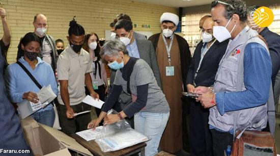تصاویر؛ نمایندگان مجلس ایران ناظر انتخابات ونزوئلا