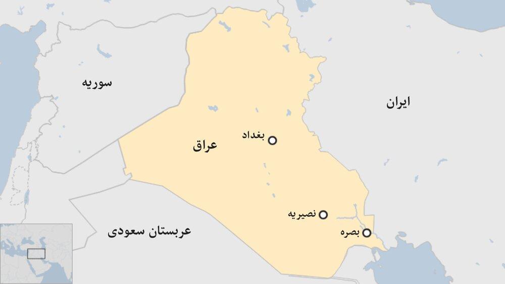حمله هوایی آمریکا به مناطقی در استان بابل عراق