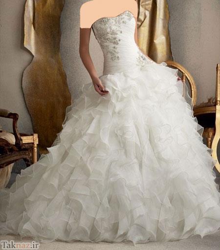 مدل های جدید لباس عروس در سال 2021 میلادی