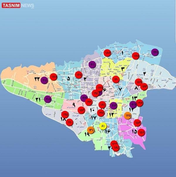 آلودگی هوای تهران به شهرهای دیگر رسید
