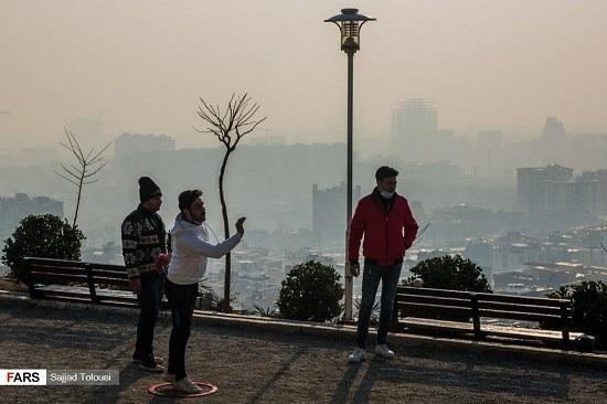 تهران دهمین شهر آلودهی جهان شد
