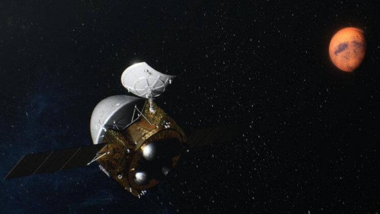 مریخ نورد چین برای فرود روی سیاره سرخ آماده میشود