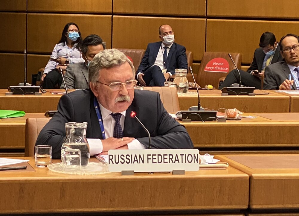 اولیانوف: گفتوگو درخصوص ایران در جلسه شورای حکام ادامه خواهد یافت