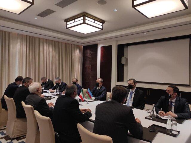 توییت وزیر خارجه آذربایجان پس از دیدار با ظریف