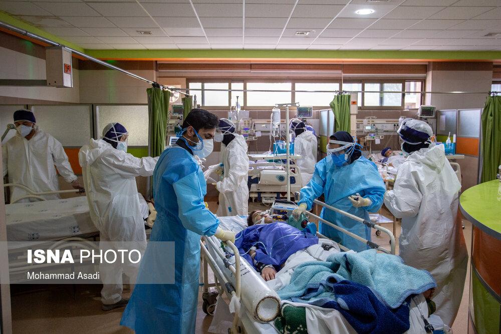 بحران کرونایی در تنها بیمارستان پُر شده ۳شهرستان/ پُر شدن اورژانس و راهروها