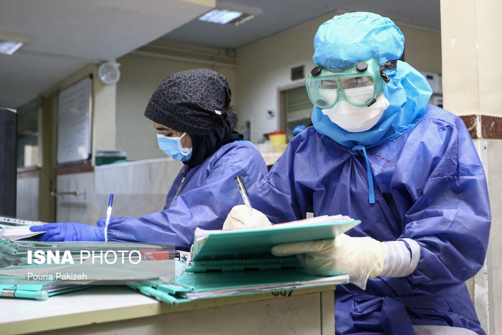 شناسایی ۹۹۶۶ مبتلای جدید به کرونا در کشور/فوت ۱۲۴ بیمار در شبانه روز گذشته