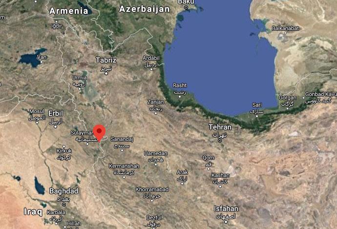 زلزله تبریز دقایقی پیش