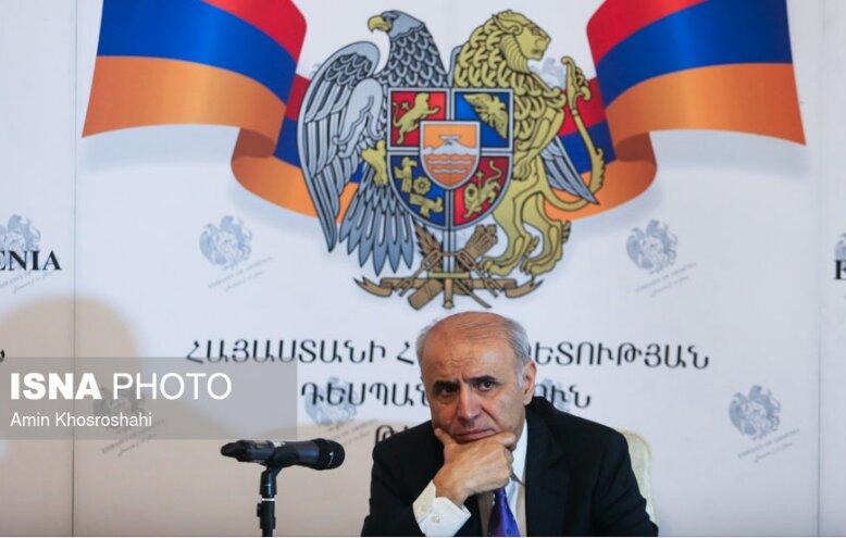 """روابط اقتصادی ایران-ارمنستان ظرفیت رشد بسیاری دارد/ مرز دو کشور """"پل"""" صلح و همکاری است"""