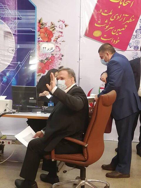 شمسالدین حسینی داوطلب کاندیداتوری در انتخابات شد