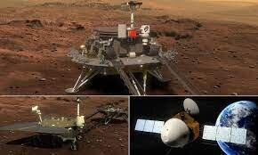 مریخنورد چین ساعاتی دیگر روی مریخ فرود میآید