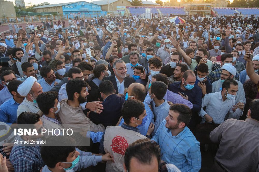 اجتماع بزرگ مردم قم در حمایت از جبهه انقلاب