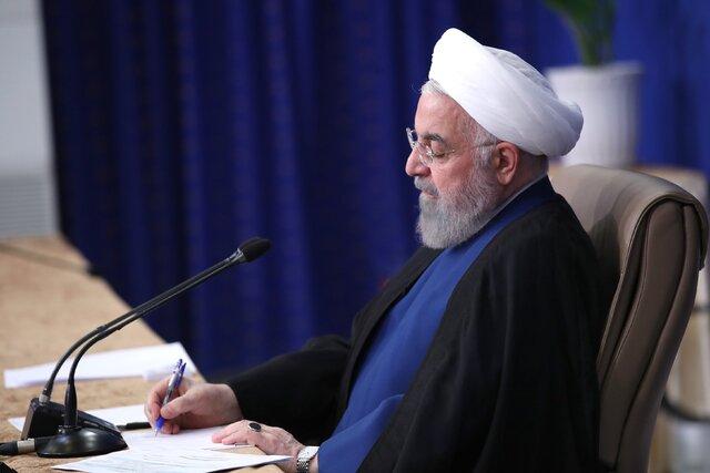 روحانی: سریعا نسبت به بررسی علل وقوع سانحه اقدام و مقصر یا مقصران احتمالی معرفی شوند