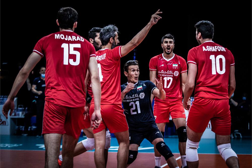 لیگ ملت های والیبال/ ایران ۰ – ۱ لهستان