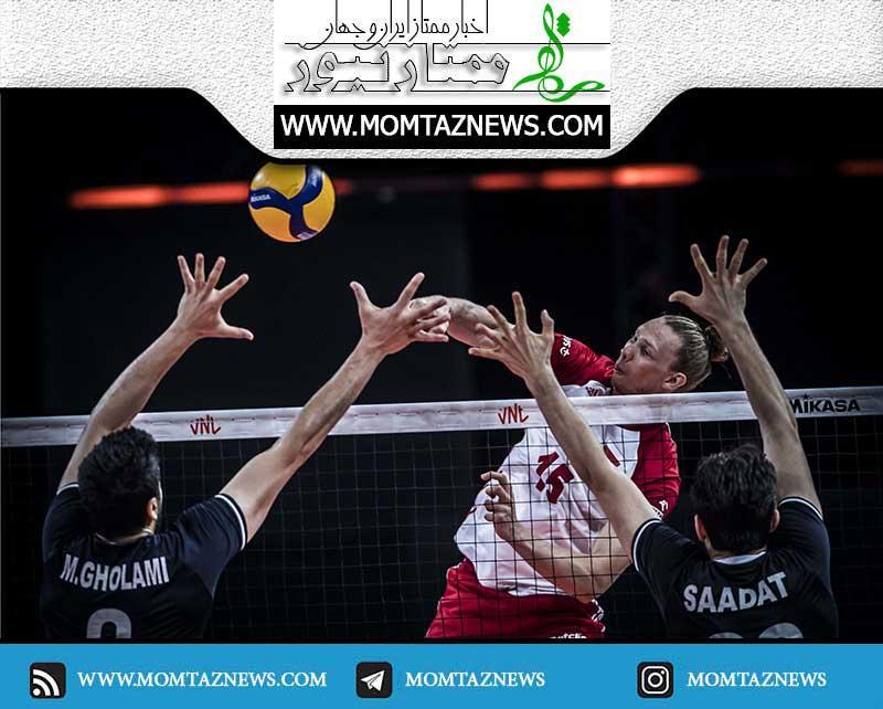 نتیجه بازی والیبال ایران لهستان