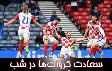 نتایج دیشب مسابقات فوتبال جام ملت های اروپا یورو ۲۰۲۰
