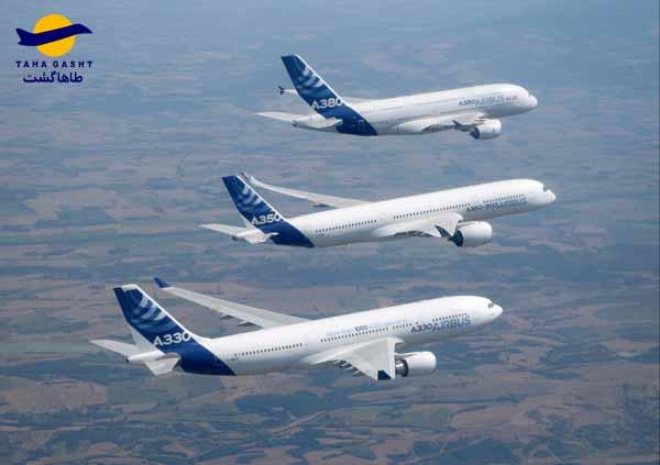 مدل های ایرباس A380