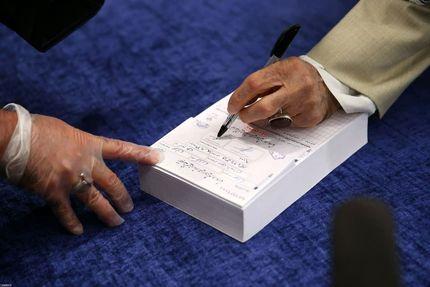 اسامی مسئولینی که تا این لحظه رای دادهاند