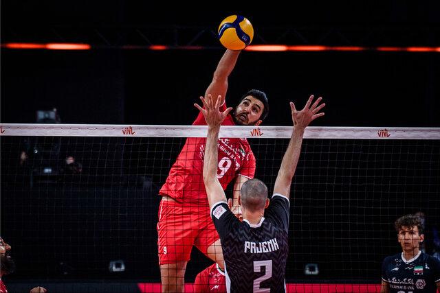 شرح اتفاقات و گزارش بازی والیبال ایران اسلوونی (باخت ۳ بر ۱)